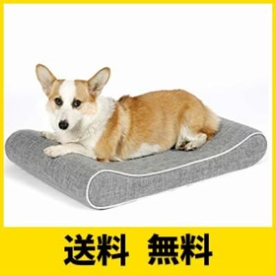 ペットベッド 犬 マットペットソファ 犬 猫ケージ用敷物 高反発 ペットハウス 犬クッション 介護用 洗えるめネコ いぬ 寝床 寝心地が