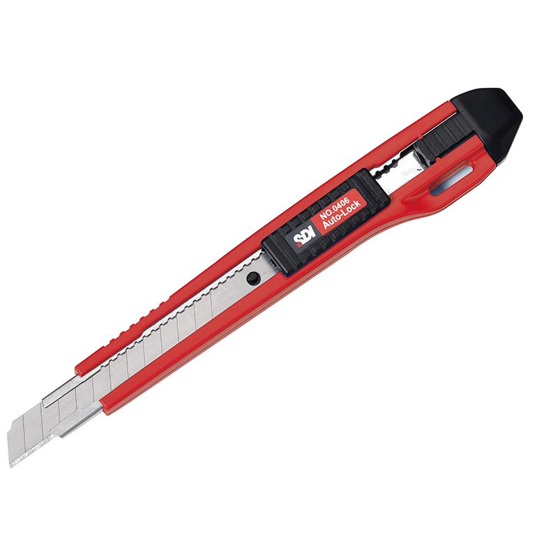 SDI自動鎖定小美工刀3入0406B