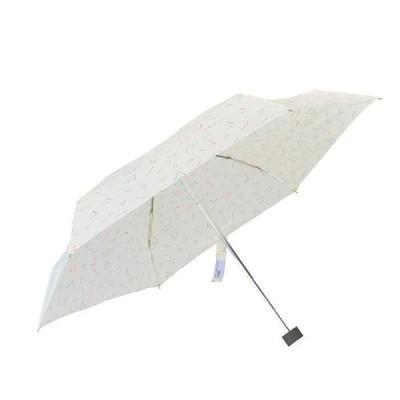 折りたたみ傘 80sスマイリーmini オフホワイト
