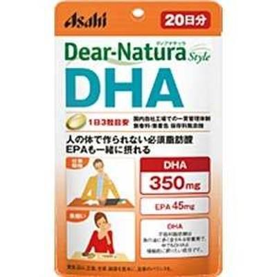アサヒグループ食品 DN Dear-Natura(ディアナチュラ) スタイルDHA(EPA)(60粒)〔栄養補助食品〕 20日 DNSTDHA20ニチ