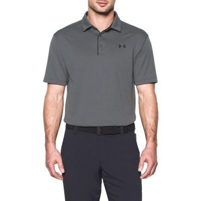アンダーアーマー ポロシャツ トップス メンズ Under Armour Men's Tech Golf Polo Graphite