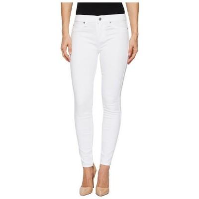 セブンフォーオールマンカインド レディース 服 デニム Ankle Skinny w/ Faux Pockets in Clean White