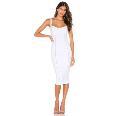 ノーキー Nookie レディース ワンピース ワンピース・ドレス Chicago Midi Dress White