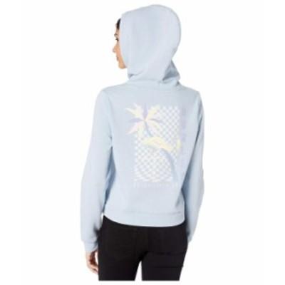 ハーレー レディース パーカー・スウェット アウター Mingo Perfect Fleece Crop Pullover Light Armory Blue Heather