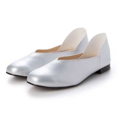 エーアイ A.I MADE IN JAPAN/2WAYバブーシュ/走れるペタンコ靴 (SV)