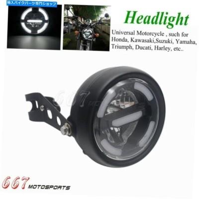 ヘッドライト Harley Touring Street GlideのためのLEDヘッドライトハイ/ロービームDRLライトW /ブラケット LED Headlight High/Low Beam DRL Light w