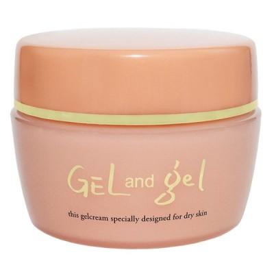日本製 天然 ゲルアンドゲルS 150g Gel and gel  ゲルアンドゲルクリーム ヒアルロン酸配合 低刺激 敏感肌