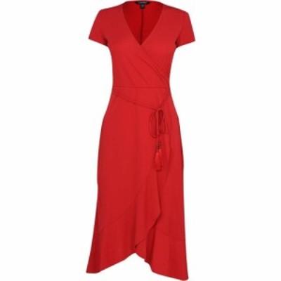 ラルフ ローレン Lauren by Ralph Lauren レディース ワンピース ミドル丈 ワンピース・ドレス Ralph Lauren Midi Dress Orient Red