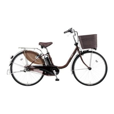 PANASONIC BE-ELD636-T チョコブラウン ビビ・DX [電動アシスト自転車(26インチ・内装3段)] 電動自転車