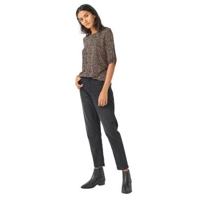 レディース 衣類 トップス ellos Women's Plus Size Knot-Sleeve Tunic ブラウス&シャツ