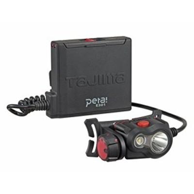 タジマ(Tajima) ペタLEDヘッドライトE301ブラック 明るさ最大300lm(50lm時18h点灯) LE-E301-BK