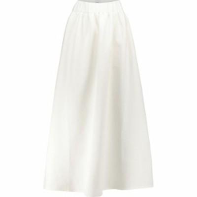 サー SIR レディース ロング・マキシ丈スカート スカート Yves cotton-blend maxi skirt Ivory