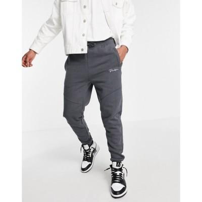リバーアイランド メンズ カジュアルパンツ ボトムス River Island prolific sweatpants in gray