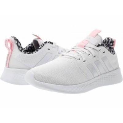 adidas Running アディダス レディース 女性用 シューズ 靴 スニーカー 運動靴 Puremotion White/White/Clear Pink【送料無料】