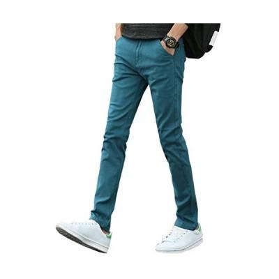 Mikino チノパン メンズ ストレッチ ロングパンツ ズボン スキニーパンツ 大きいサイズ 小さいサイズ ファッション スリムフィット 美脚 細身