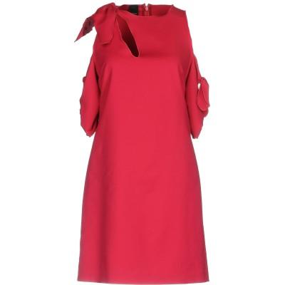 ピンコ PINKO ミニワンピース&ドレス ガーネット 40 50% コットン 44% ナイロン 6% ポリウレタン ミニワンピース&ドレス