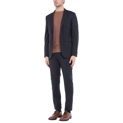 トネッロ TONELLO スーツ ダークブルー 48 バージンウール 50% / ポリエステル 30% / レーヨン 18% / ポリウレタン 2%