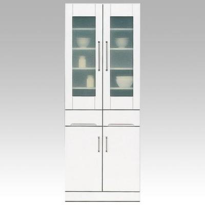 食器棚 ダイニングボード 70cm幅 クリスタル3 国産 開梱設置 7月中旬以降入荷予定