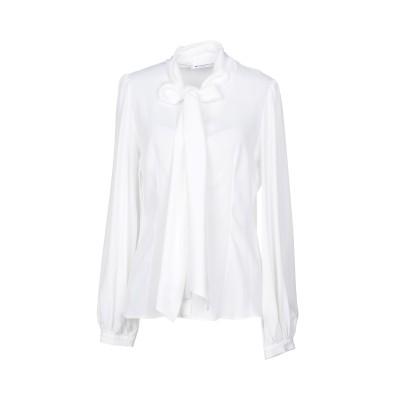 ドンダップ DONDUP シャツ ホワイト 40 アセテート 69% / シルク 31% シャツ