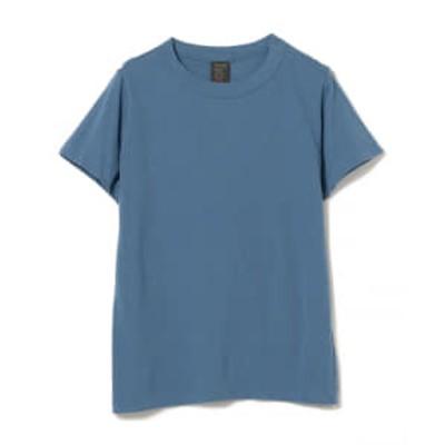 <WOMEN>homspun / 天竺半袖 Tシャツ