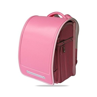 Ransel Randoseru Semi-automatic backpack Japanese school bags for kids girls Senior PU leather Large capacity light weight