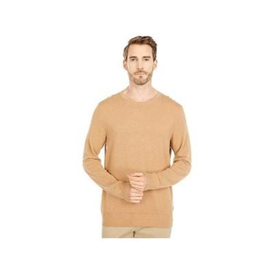 J.Crew Cotton-Cashmere Pique Crewneck Sweater メンズ セーター Heather Raffia