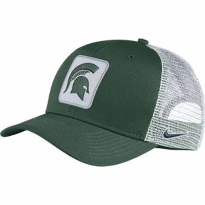 ナイキ Nike メンズ キャップ トラッカーハット 帽子 Michigan State Spartans Green Classic99 Trucker Hat