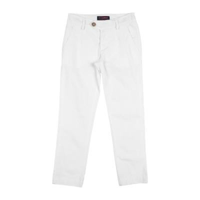 ロイ ロジャース ROŸ ROGER'S パンツ ホワイト 6 コットン 96% / ポリウレタン 4% パンツ