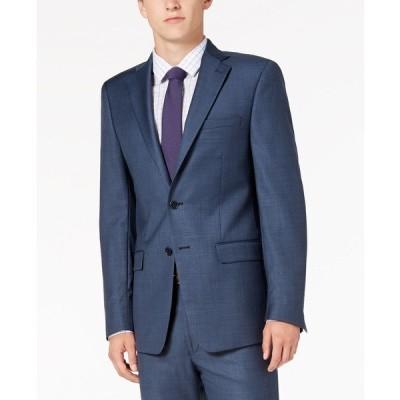 カルバンクライン ジャケット&ブルゾン アウター メンズ Men's X-Fit Slim-Fit Stretch Suit Jackets Blue Neat