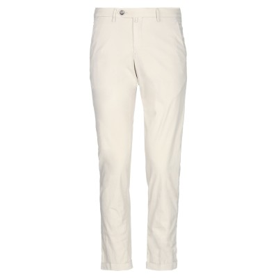 B SETTECENTO パンツ ライトグレー 30 コットン 72% / ナイロン 24% / ポリウレタン 4% パンツ