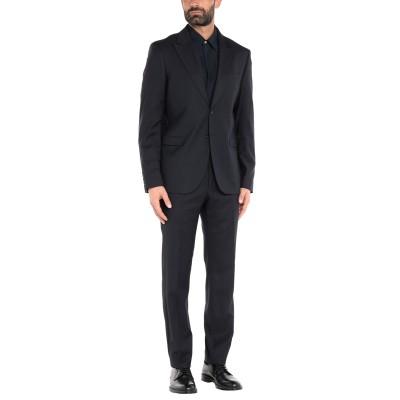 マニュエル リッツ MANUEL RITZ スーツ ダークブルー 46 バージンウール 56% / レーヨン 41% / ポリウレタン 3% スーツ
