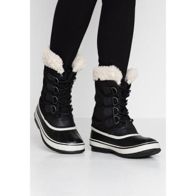 ソレル ブーツ&レインブーツ レディース シューズ CARNIVAL - Winter boots - black/stone