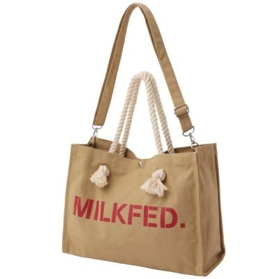 MILKFED. / ROPE HANDLE2WAY BAG WOMEN バッグ > トートバッグ