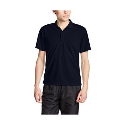 [グリマー] 半袖 4.4オンス ドライ ポロシャツ [UV カット] 00302-ADP ネイビー L (日本サイズL相当)