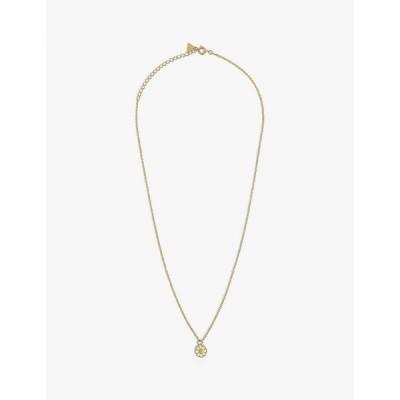 ウィルヘルミナ ガルシア WILHELMINA GARCIA レディース ネックレス Daisy 18Ct Gold-Plated Vermeil Sterling-Silver Necklace GOLD