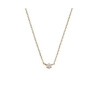 [VAヴァンドーム青山] VA VENDOME AOYAMA K18PG ダイヤモンド 0.03ct 1石 ネックレス GGAN000340