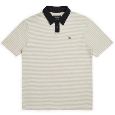 Brixton Pablo Polo Shirt Parchment S ポロシャツ 送料無料