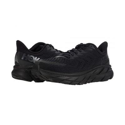 Hoka One One ホカオネオネ メンズ 男性用 シューズ 靴 スニーカー 運動靴 Clifton 7 - Black/Black