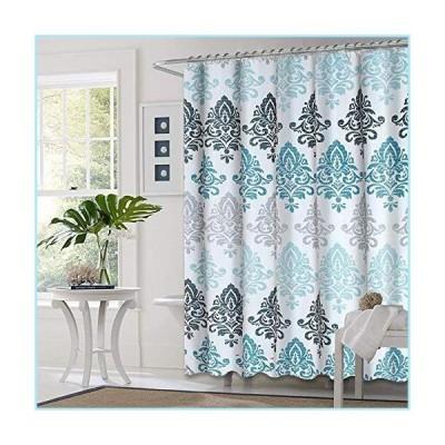 """新品Premium Zone Shower Curtain with Metal Hooks, 72"""" x 72"""" Thick Heavy Duty Fabric Bathroom Shower Curtain Set with Hooks No Chemical Odo"""