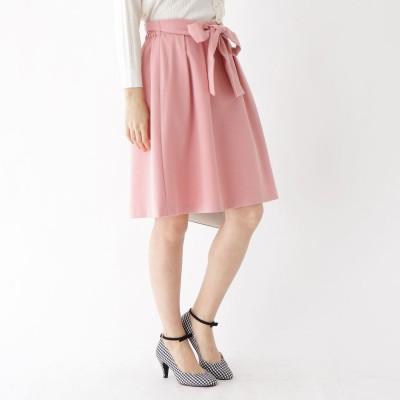クチュール ブローチ Couture brooch 【WEB限定サイズ(LL)あり】リボンフレアスカート (ピンク)