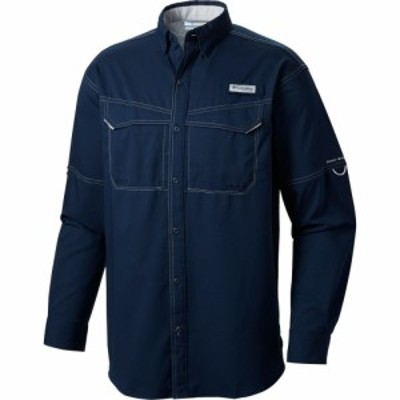 コロンビア Columbia メンズ トップス PFG Low Drag Offshore Long Sleeve Shirt Collegiate Navy/Pfg