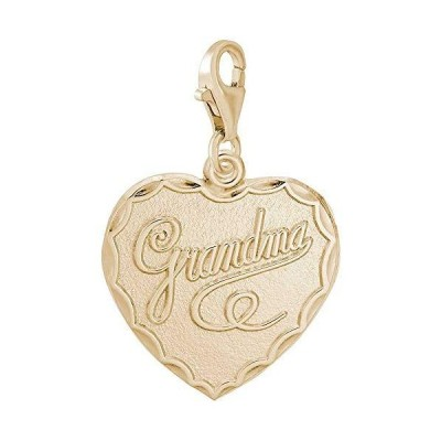 Rembrandt Charms Grandma Charm with Lobster Clasp, 10K Yellow Gold並行輸入品 送料無