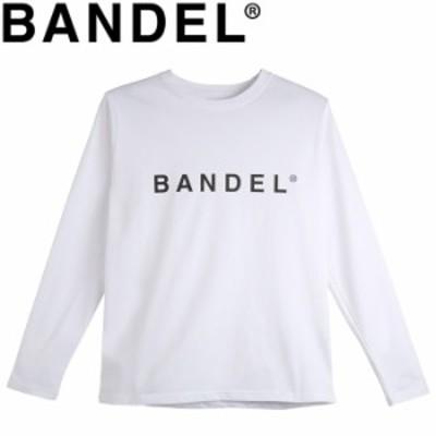 【メール便送料無料】バンデル 長袖Tシャツ Long Sleeve Crew BAN-LT003 White