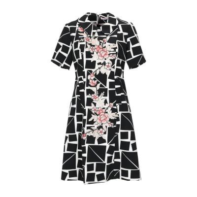 FEMME ミニワンピース&ドレス ブラック 46 ポリエステル 90% / ポリウレタン 10% ミニワンピース&ドレス