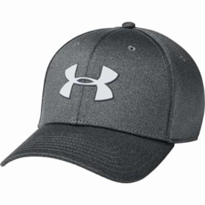 アンダーアーマー Under Armour メンズ 帽子 Armour Twist Stretch Hat Pitch Gray/Pitch Gray