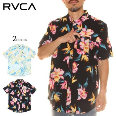 SALE セール RVCA ルーカ シャツ メンズ AKORA FLORAL SS 2020年春夏