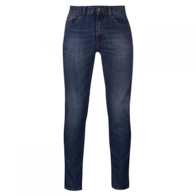 リークーパー Lee Cooper メンズ ジーンズ・デニム スキニー・スリム ボトムス・パンツ Slim Leg Jeans Mid Wash
