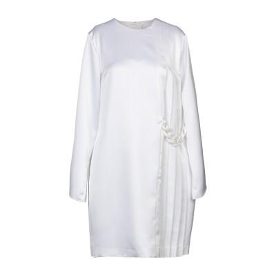 エムエスジーエム MSGM ミニワンピース&ドレス ホワイト 46 ポリエステル 100% ミニワンピース&ドレス