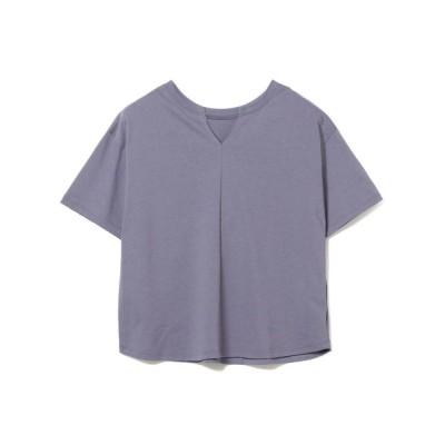 BEAMS WOMEN / Ray BEAMS / キーネック 2Way ビッグ Tシャツ WOMEN トップス > Tシャツ/カットソー