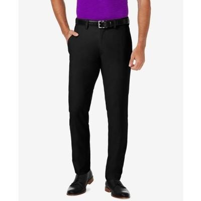 ハガール カジュアルパンツ ボトムス メンズ Men's Cool® 18 PRO Slim-Fit Flat Front Stretch Dress Pants Black